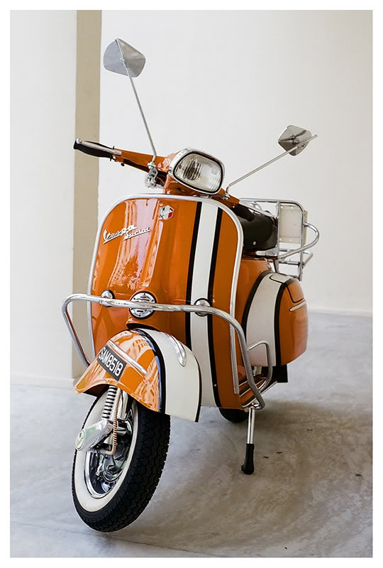 vespa color: