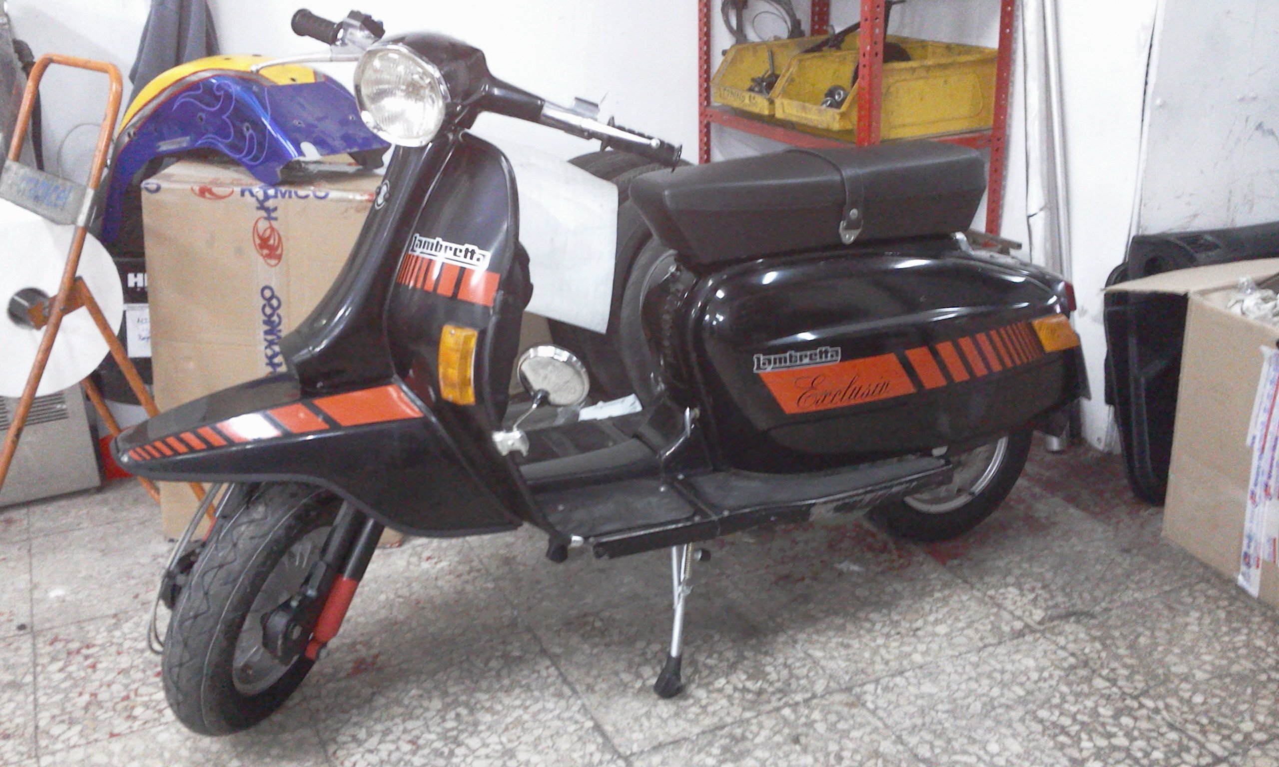Nuestras Vespas Lambrettas Lml Salvemos Lince Rico